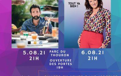 Festival du rire les 5 et 6 Août 2021
